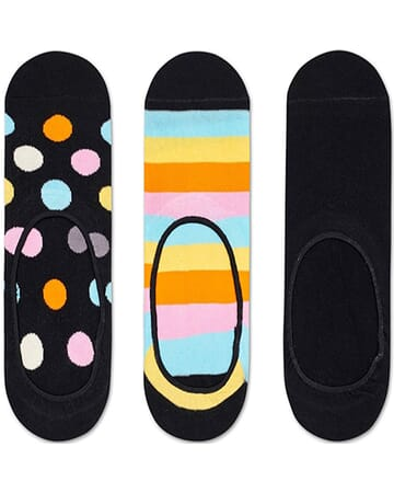 3-Pack Big Dot Liner Sock