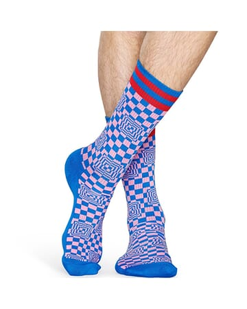 Athletic Checked Sock