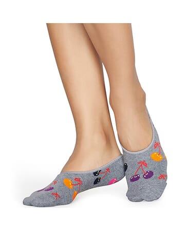 Cherry Liner Sock