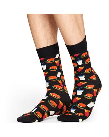 Hamburger Sock