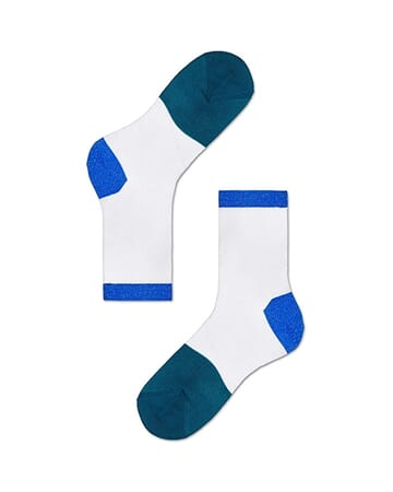 Liza Ankle Sock - Blue