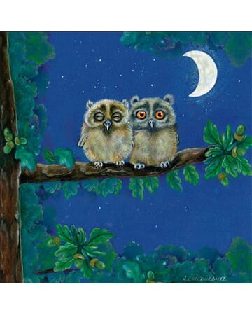 Guardian Owls Protecting Mother Earth