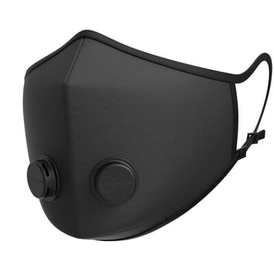 Urban Breathing Mask - Solid Black