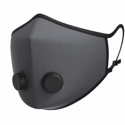 Urban Breathing Mask - Dots Graphite