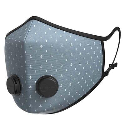 Urban Breathing Mask - Navy Grey
