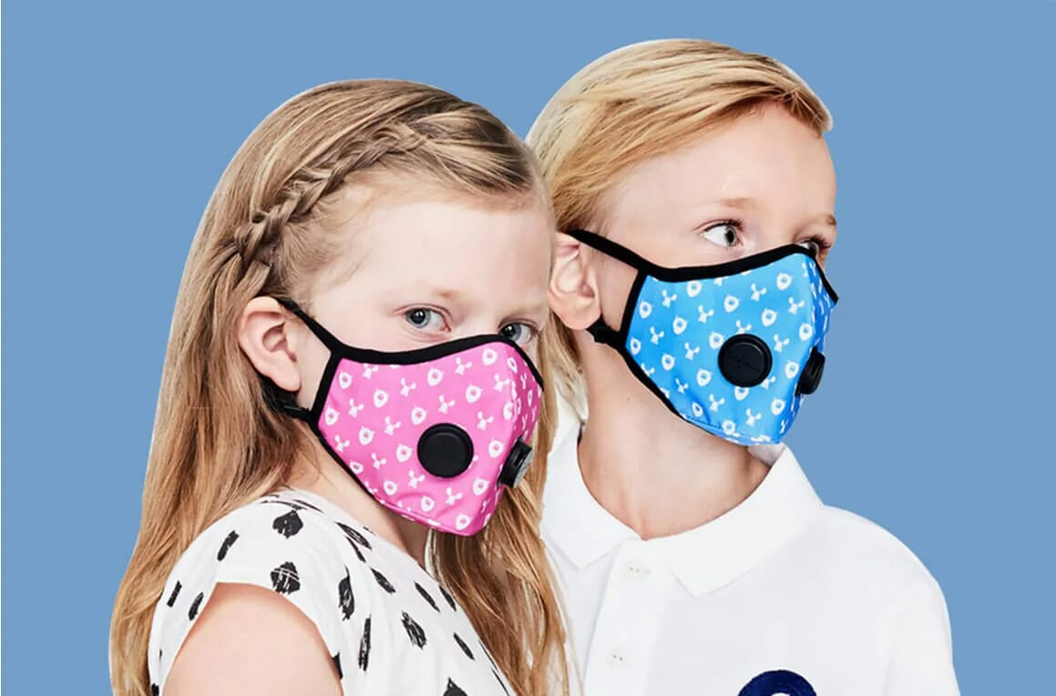 Urban Air Mask - Kids Design
